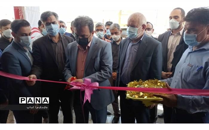 افتتاح ۶ پروژه  بهداشتی درمانی در شهرستان امیدیه