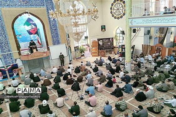 برگزاری مراسم ۱۴ خرداد در نماز جمعه  کاشمر در مصلی مسجد جامع  شهرستان