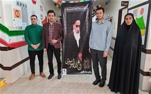 گرامیداشت مراسم ارتحال حضرت امام خمینی (ره )و یابودقیام  پانزده خرداد