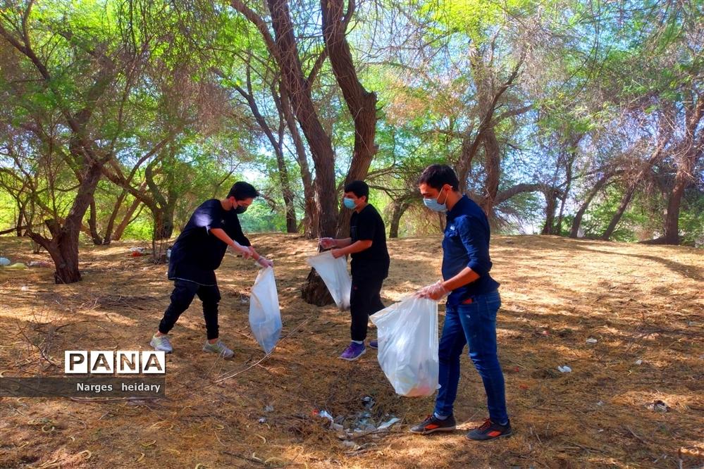 پویش نه به زباله در شهرستان امیدیه