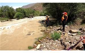 غرق شدن یک زن ۴۵ ساله در رودخانه هراز