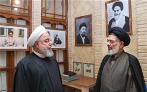 روحانی: مرحوم محتشمیپور عمر خویش را صرف تحقق آرمانهای بلند انقلاب و نظام اسلامی کرد