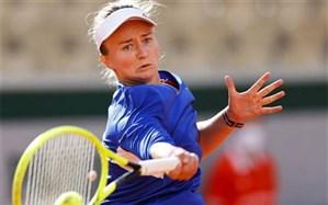 تنیس اوپن فرانسه؛ اعجوبه ۱۷ ساله حذف شد