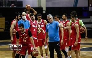 مراسم رونمایی از پیراهن تیمملی بسکتبال برگزار شد