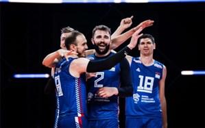 لیگ ملتهای والیبال؛ صربستان در کورس صعود ماند