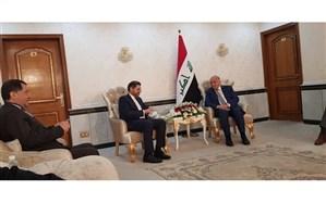دیدار سخنگوی وزارت امور خارجه با وزیر خارجه عراق