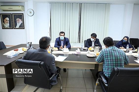 جلسه هماهنگی اجرای چهارمین طرح گردشگری دانشآموزی و بازدید از سازمان تامین اجتماعی و ادارات تابعه