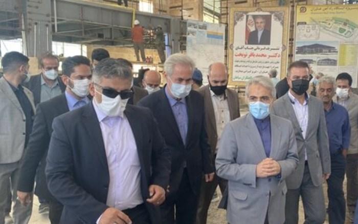 تکمیل ایستگاه قطار خاوران تبریز تا پایان تیر