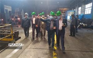 شرکت فولاد آذربایجانشرقی پیشتاز تحقق منویات رهبری در زمینه تولید و جهش تولید است
