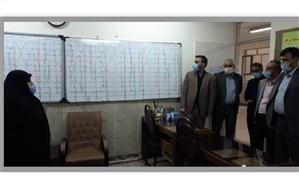 بازدید استانی از حوزههای اجرا و تصحیح امتحانات نهایی