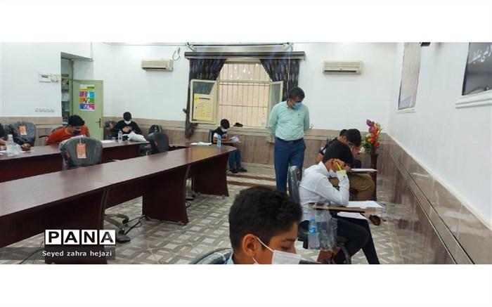 برگزاری آزمون ورودی مدارس استعدادهای درخشان در شهرستان گلوگاه