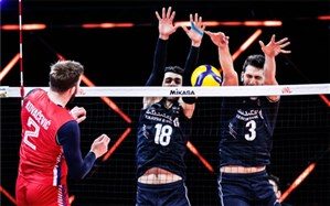 لیگ ملتهای والیبال؛ صربستان ترمز ایران را کشید