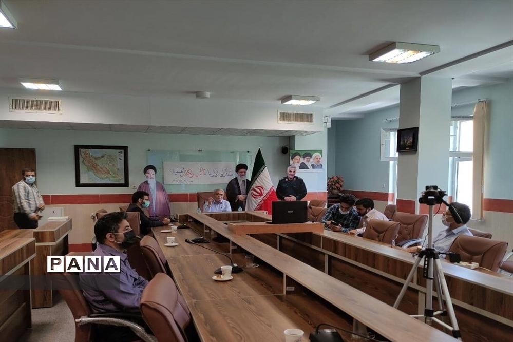 برگزاری وبینار رای اولی ها در اداره آموزش و پرورش ناحیه ۱ کرج