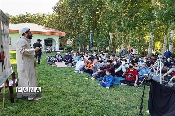 برگزاری اردوی دانشآموزان رای اولی در البرز