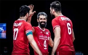 لیگ ملتهای والیبال؛ ترکیب ایران برای دیدار با آلمان اعلام شد