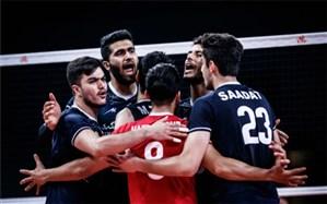 والیبال ایران قدرت خود را به آمریکا دیکته کرد؛ با این سیستم بازی کردن جرات میخواهد