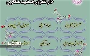 تابستان ۱۴۰۰ در دارالقرآن شهید ستاری منطقه قرچک