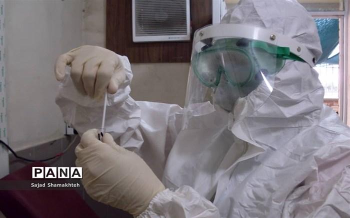 غربالگری و تست کرونا در مرکز بهداشت شرق اهواز