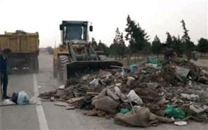 جمعآوری ۳۶۰۰ تن نخاله از سطح شهراسلامشهر