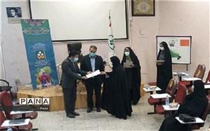 تقدیر از همکاران برگزیده منطقه ای در دهمین جشنواره نوجوان سالم