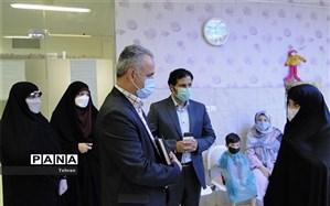 بازدید رییس اداره سلامت شهر تهران از پایگاه سلامت دهان و دندان منطقه ۱۴
