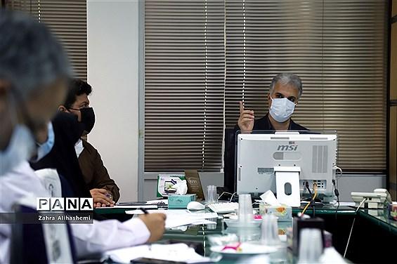 دومین جلسه کارگروه سرویس حمل و نقل داشآموزی شهر تهران