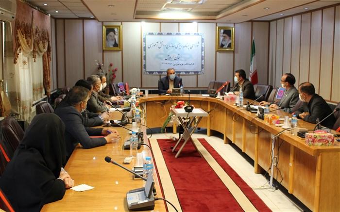 برگزاری جلسه شورای برنامه ریزی سازمان دانش آموزی اردبیل