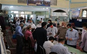 حضور مقتدرانه و پرشور مردم قم در پای صندوقهای رای