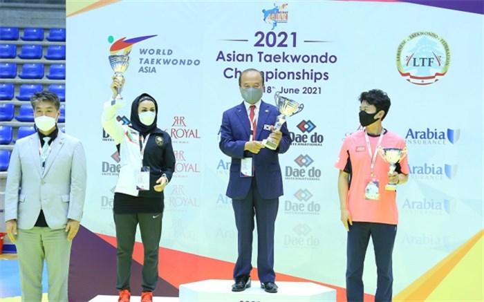 تکواندو قهرمانی آسیا؛ دختران ایران تاریخساز شدند