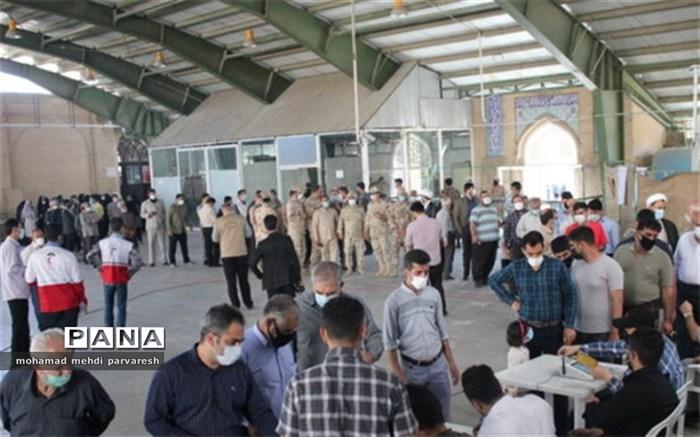 حضور پرشور مردم کرمانشاه در انتخابات 1400