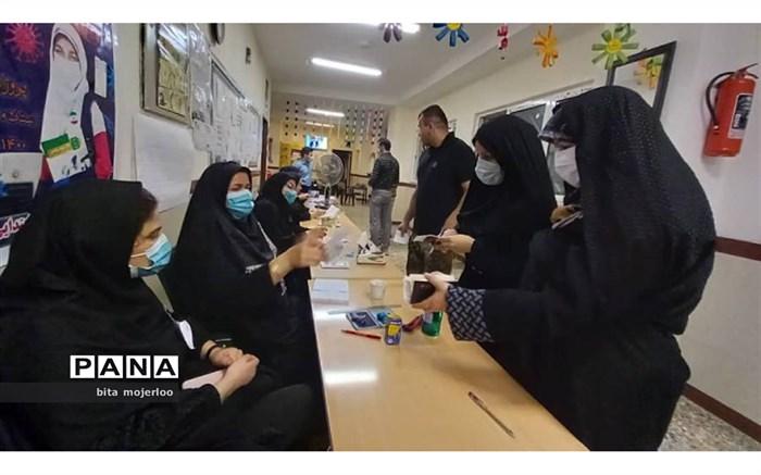 مشارکت 65 درصدی مردم گلوگاه در انتخابات تا ساعت 23 بامداد