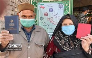 حماسه حضور در انتخابات ۱۴۰۰ در شهرستان سرایان