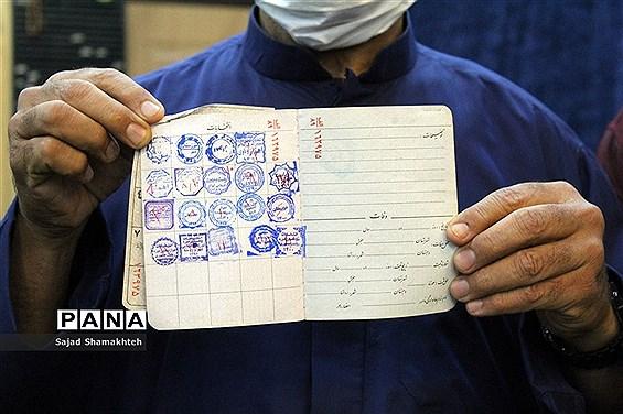مشارکت و حضور مردم اهواز در انتخابات 1400-2
