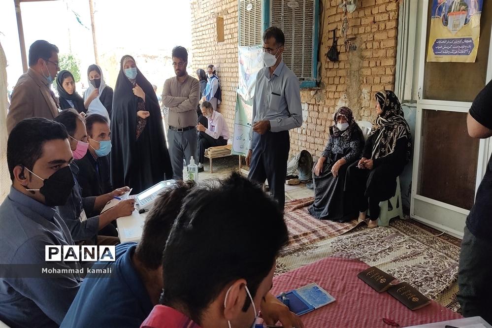 حضور پر شور روستاییان در انتخابات ۱۴۰۰