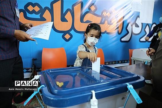 حضور مردم ارومیه در انتخابات