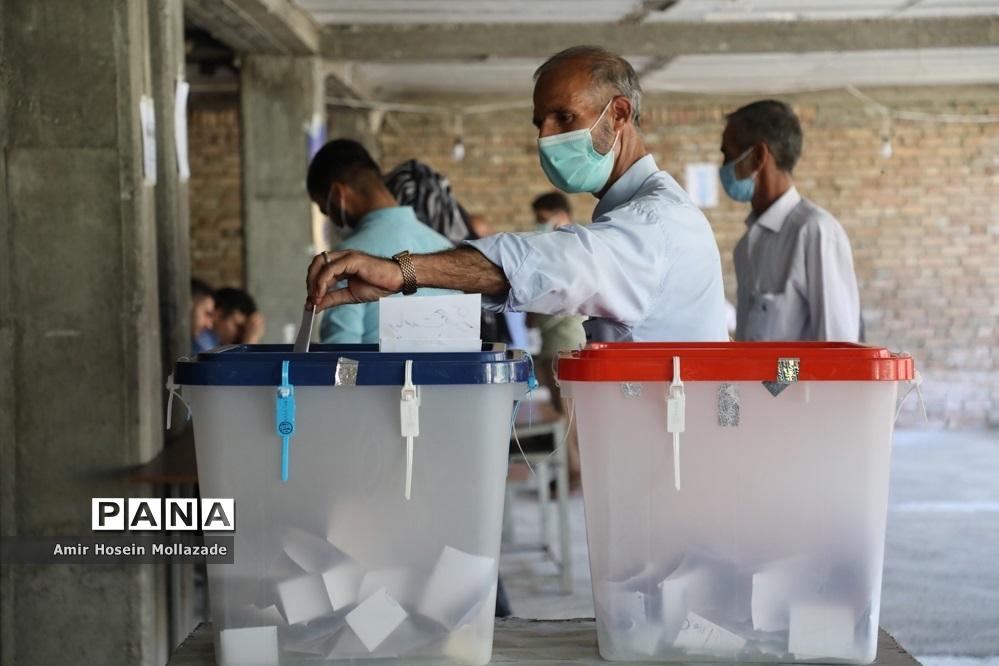 حضور مردم روستاهای ارومیه در انتخابات 1400