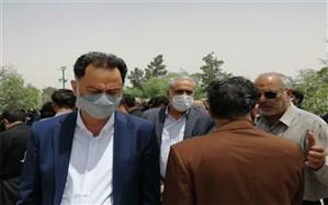 حضور مدیرکل آموزش و پرورش قم در مراسم تشییع «علیرضا حسیندوست» + تصاویر