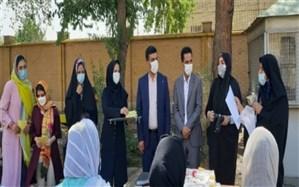 جشن فارغالتحصیلی دانشآموزان دختر کم توان ذهنی در شهرری
