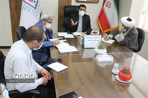 نشست هماهنگی برگزاری افتتاحیه فعالیتهای تابستانی دانشآموزان استان بوشهر