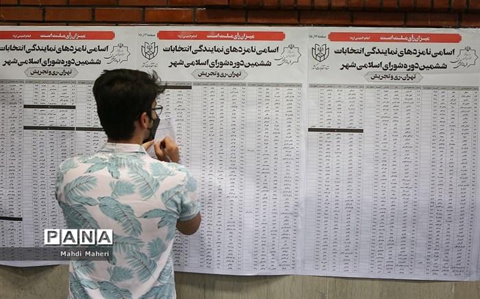 انتخابات ۱۴۰۰ در تهران/ 7