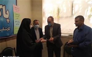 مراسم تجلیل از برگزیدگان هفتمین جشنواره الگوهای برتر تدریس در پاکدشت
