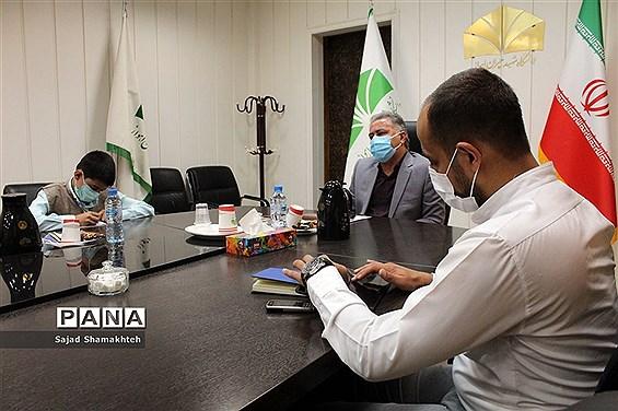 نشست خبری معاون دانشگاه شهید چمران با موضوع آزمون سراسری 1400