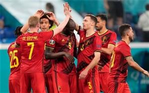 یورو 2020؛ بلژیک مسیر غولها را ادامه داد