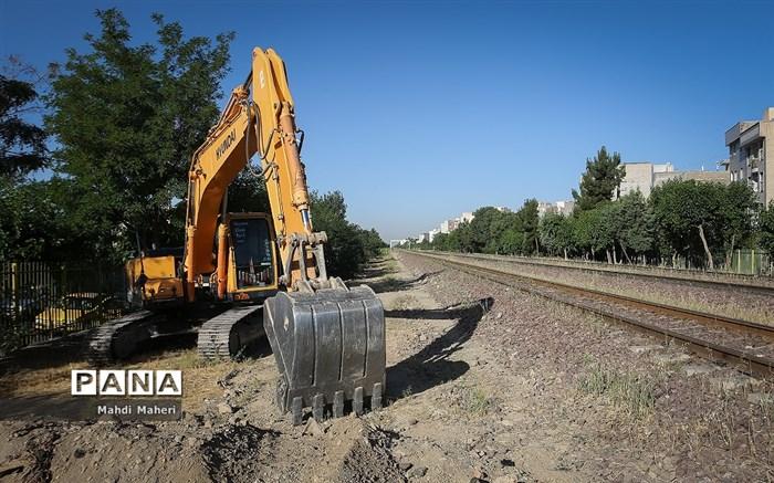 106 کیلومتر از راه آهن اصفهان - میبد به بهرهبرداری میرسد