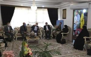 دیدار مدیرکل آموزش و پرورش آذربایجانشرقی با منتخب اول شورایاسلامی تبریز