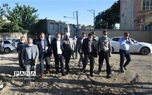 بازدید رئیس سازمان نوسازی، توسعه و تجهیز مدارس کشور از مدارس تربت حیدریه