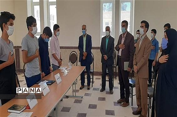 حضور رئیس سازمان دانشآموزی استان یزد در ابرکوه