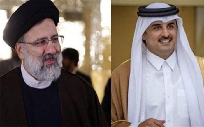 رئیسی و امیر قطر