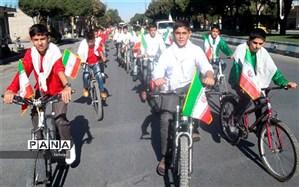 لیگ دوچرخهسواری دانشآموزان متوسطه اول و دوم منطقه 11 تهران