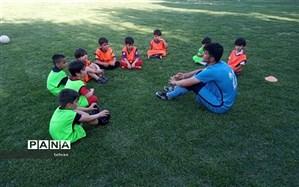 اجرای طرح استعدادیابی فوتبال در باشگاه شهید ربطی منطقه ۱۱